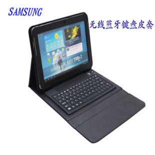 For samsung   10.1 n8000 p7500 p5100 bluetooth keyboard holsteins mount n8010 protective case