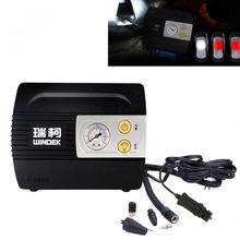 WINDEK Universal Portable 100PSI Vehicle Car Tire Inflator Air Compressor Pump with LED Light