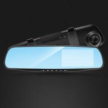 Night Vision Car Dvr Camera Rearview Mirror Digital Video Recorder Auto Camcorder Dash Cam FHD 1080P dual lens Registrator трафарет для рисования centropen а праздник 8 листов