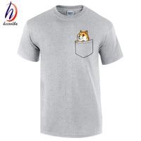 Doge Tee Shirt Homme De Marque Ripndip Print T Shirt 2016 Fashion Pocket Funny Joke T