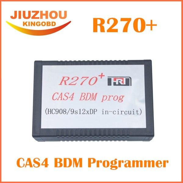Prix pour 2016 Le Plus Bas Prix R270 + V1.20 Auto CAS4 BDM programmeur principal R270 CAS4 BDM Programmeur Professionnel pour bmw clé prog de voiture de diagnostic