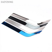 EAZYZKING Car styling Stainless Steel Glove box Trim sticker case For KIA K2 Rio 2011 2016 Auto Accessories free shipping