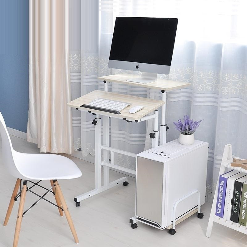 BSDT A standing Wo language notebook desktop comter desk lifting table FREE SHIPPING bsdt and one hundred million to reach the notebook comter office desktop home simple mobile learning desk free shipping