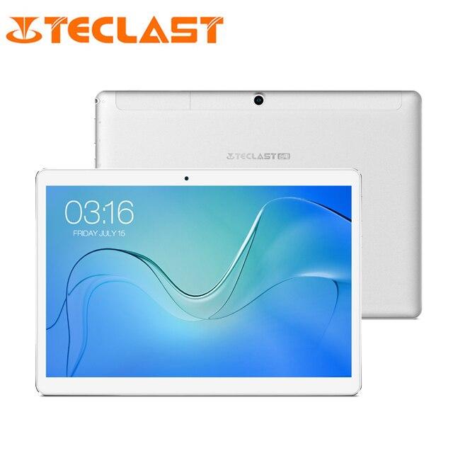 Teclast P10 4G LTE Tablet 10.1 Pouces 1280*800 Android 8.1 OS MTK6737 Quad Core 2 GB RAM 16 GB ROM Double téléphone-appareil photo Appel Tablet