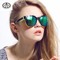 2017 Hot New Girl Moda Radiación UV 400 Gafas de Sol de Marca de gafas de Sol gafas de Sol de La Personalidad Femenina