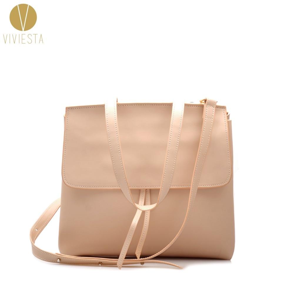 GENUINE COWHIDE LEATHER LADY SHOULDER BAG - Womens 2018 New Simple Design Work Large Size Tote Bucket Cross Body Bag Handbag