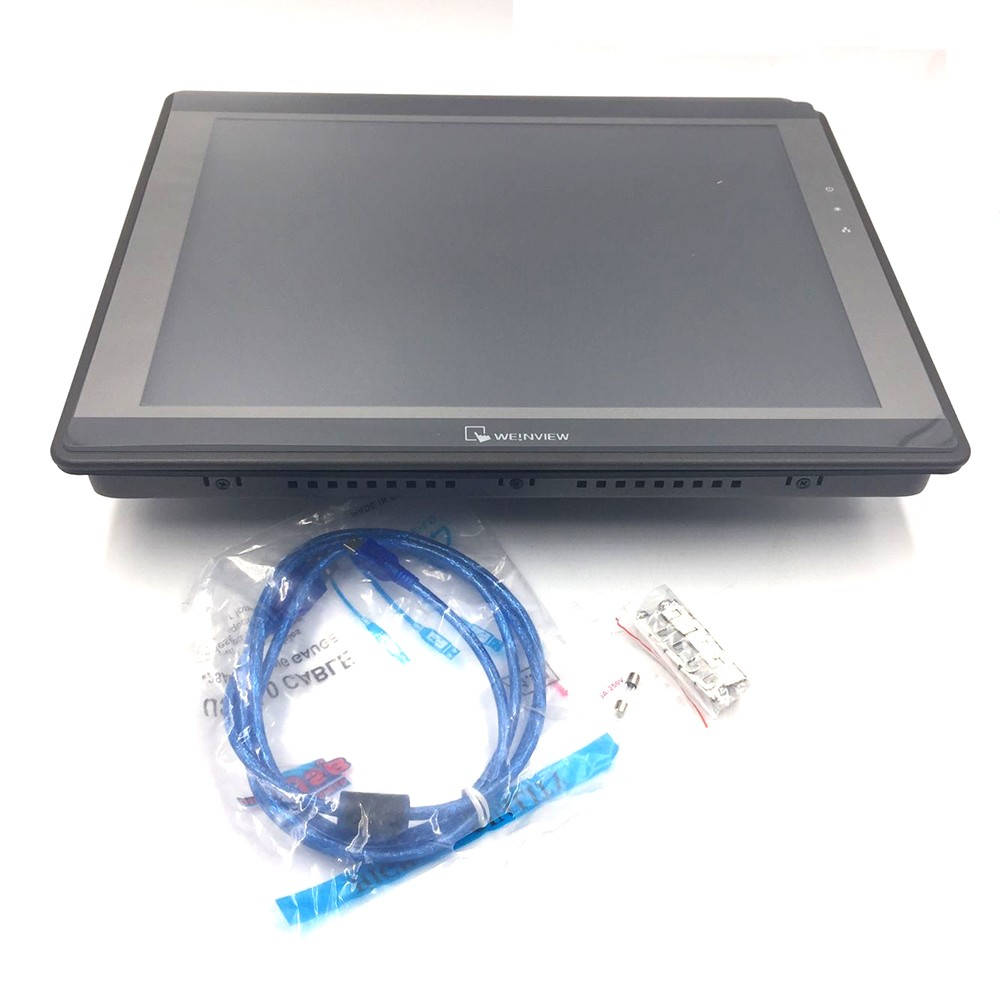 15 inch Touch Operator Panel Display Screen HMI 1024*768 Ethernet USB Host SD Card MT8150iE Weinview with Programing Cable weinview mt8150ie 15 inch 1024 768 hmi new original can replace mt8150x 13 months warranty