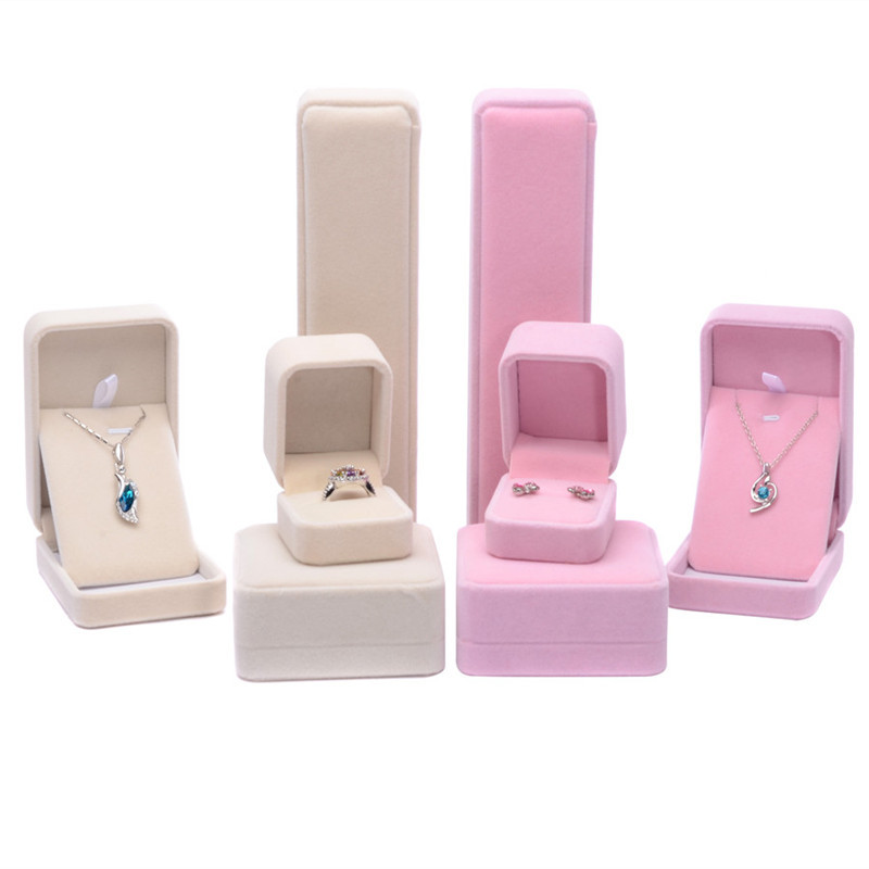 Multi Size Fashion Top Grade Villi Jewelry Box, Rings Earrings/Pendant Necklace Bracelet Boxes Display Packaging Gift Boxes