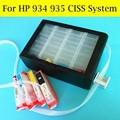 4 Cores Ciss Sistema de Abastecimento de Bulk Ink Para HP934 935 Com Chip permanente Para HP Officejet pro 6830 6230 6815 6835 6812 impressora