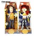 История игрушек 3 Вуди Джесси Говоря ПВХ Фигурку Коллекционная Модель Игрушки Куклы DSFG268