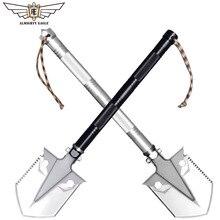 Всемогущий орел открытый мини-многоцелевой аварийная Лопата Садоводство инструмент складной лопата Кемпинг Охота женщины Самозащита