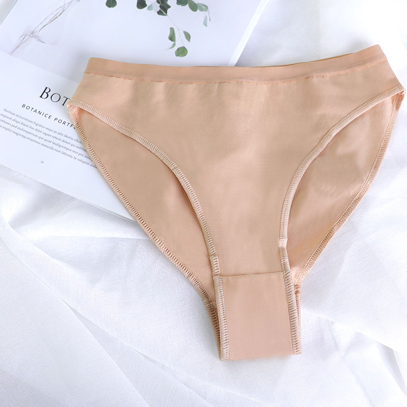 Ballet Dance Briefs Girls Women Adult Skin Color High Cut Underpants Underwear Cotton Gymnastics Bottom