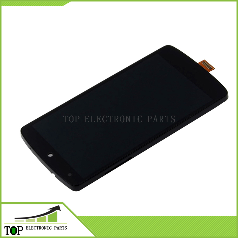 For LG Google Nexus 5 D820 D821 LCD With Touch Screen Digitizer Frame Assembly Free Shipping 5pcs lot 100% original new display screen lcd assembly with frame for lg nexus 5 d820 d821 lcd black