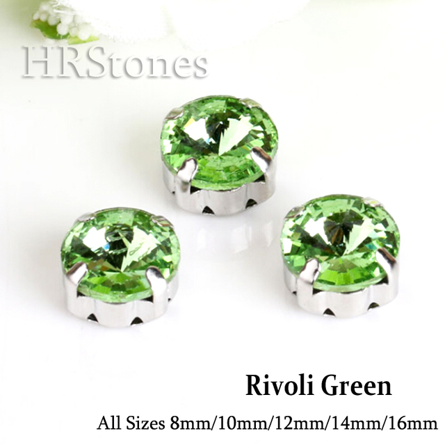 Rivoli Glass Claw Strass rhinestone Green garment factories china Crystals  arts crafts sewing on Stones For Clothes Decoration 9907a8d7150e