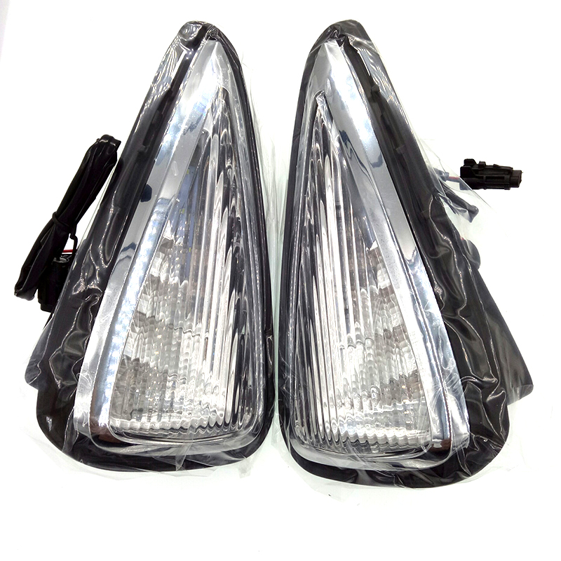 New Car Accessories LED DRL Daytime Running Lights Daylight Fog light LED fog lamp for Toyota