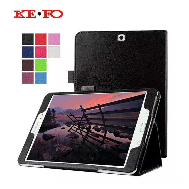 KeFo For Tab S2 9.7 Case cover SM-T813 T819 Leather Protective Covers for Samsung Galaxy Tab S2 9.7 SM-T810 T815 SM-T819 Tablet