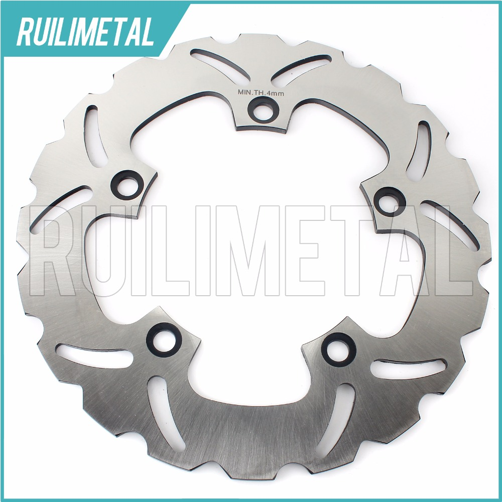 Rear Brake Disc Rotor for SUZUKI GSR 400 600 GSF BANDIT 650 ABS S GSX F GLADIUS 650 2009 2010 2011 2012 2013 2014 adjustable short straight clutch brake levers for suzuki gsx 650 f gsf 650 bandit n s dl 1000 v strom 2002 2015