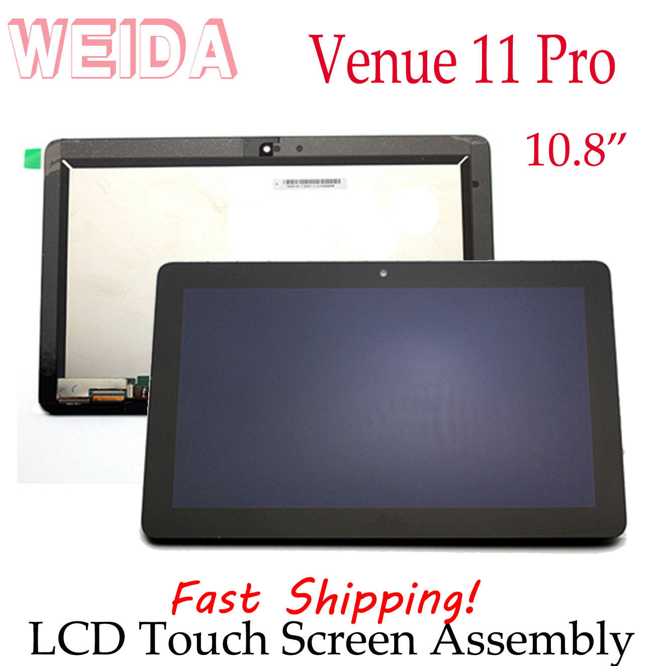WEIDA LCD Replacement 10.8 For Dell Venue 11 Pro 7140 5130 LCD Display Touch Screen Assembly