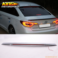 Fit For 2015-2016 Hyundai Sonata OE Style Painted Roof Spoiler LED - ABS (#V8S)