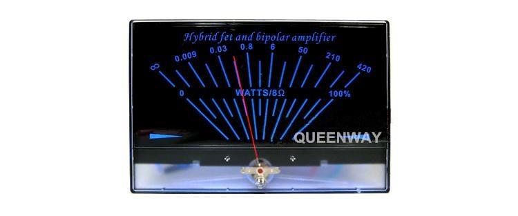 Audio Power Amplifier VU Meter Single end Class A DB Level Header High-precision