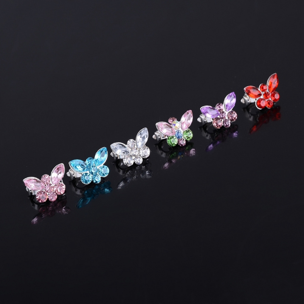 10 PCs Fashion Horse Eye Hair Clips Apparel Accessories Headwear Hair Combs Bridal Accessories