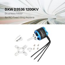 DXW D3536 1200KV 2-4S Brushless Motor for RC FPV Fixed Wing Airplane Aircraft 2000mm 2M Skysurfer FPV Glider Plane Spare Parts цена