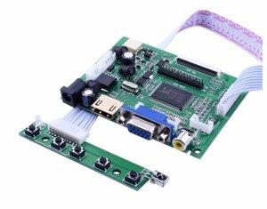 7Screen Display 1024*600 ЖК-монитор с пультом управления драйвером 2AV HDMI VGA для Raspberry Pi Banana/Orange Pi