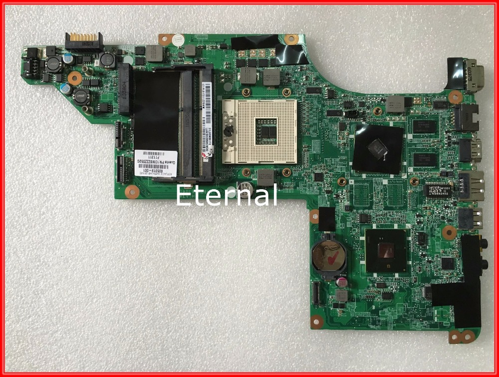 605319-001 Laptop motherboard for HP DV7-4000 system board DDR3 DA0LX6MB6H1 REV :H GOOD Quality 100%test before shipment