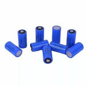 Image 4 - 4PCS CR123A lithium battery charging 3v 17335 strong light flashlight batteries 3v battery