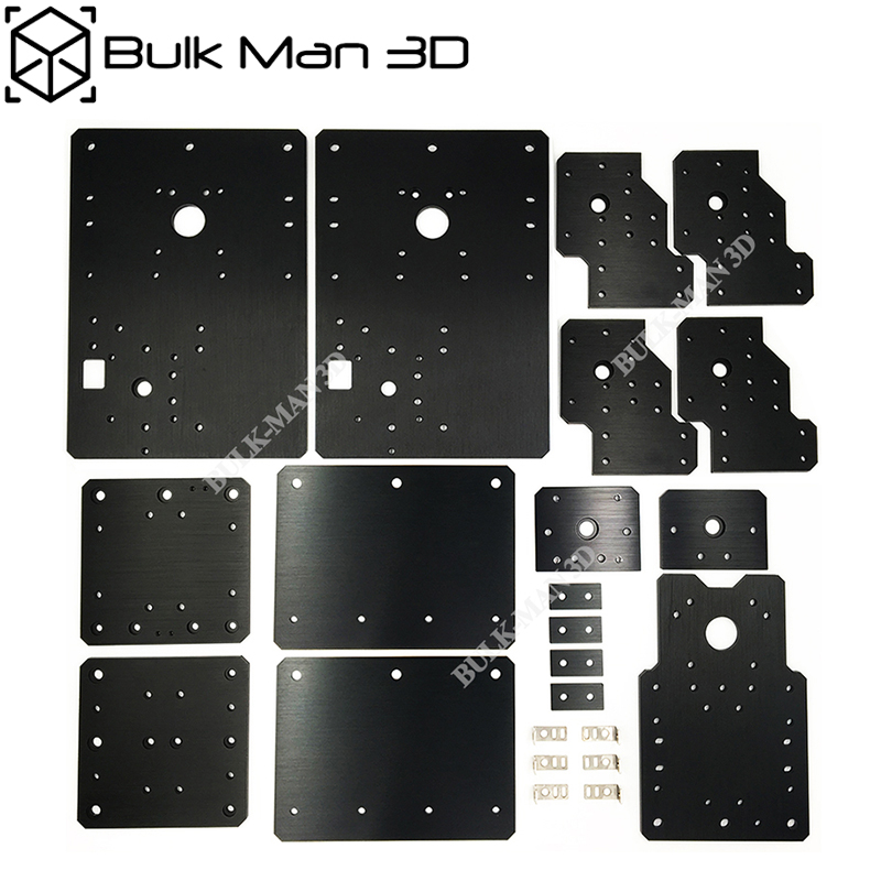 High Precision WorkBee CNC Plates Sets For WorkBee CNC Wooding Router Machince - Screw And Belt Driven