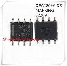 NEW 10PCS LOT OPA2209AIDR OPA2209 O2209 SOP 8 IC