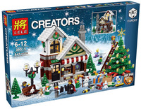 Girl Series 39015 Cinderella S Christmas Hut Minifigures Blocks Educational Brick Toy Figures Compatible With Legoe