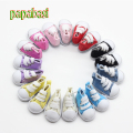 5cm Canvas Shoes For BJD Doll Fashion Mini Toy Assorted Shoes Sneaker Bjd Doll Shoes for Russian Doll Accessories