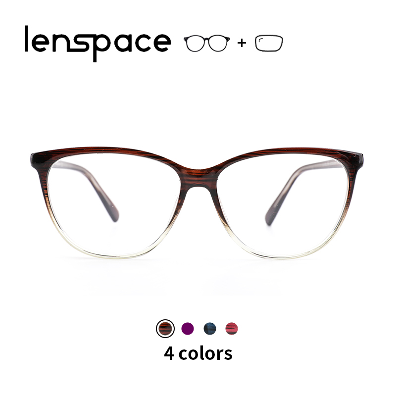 TR90 Glasses Frame Cat Eye Glasses Myopia Optical Clear Eyeglasses Brand Designer Eyewear Vintage Unisex Glasses(China)