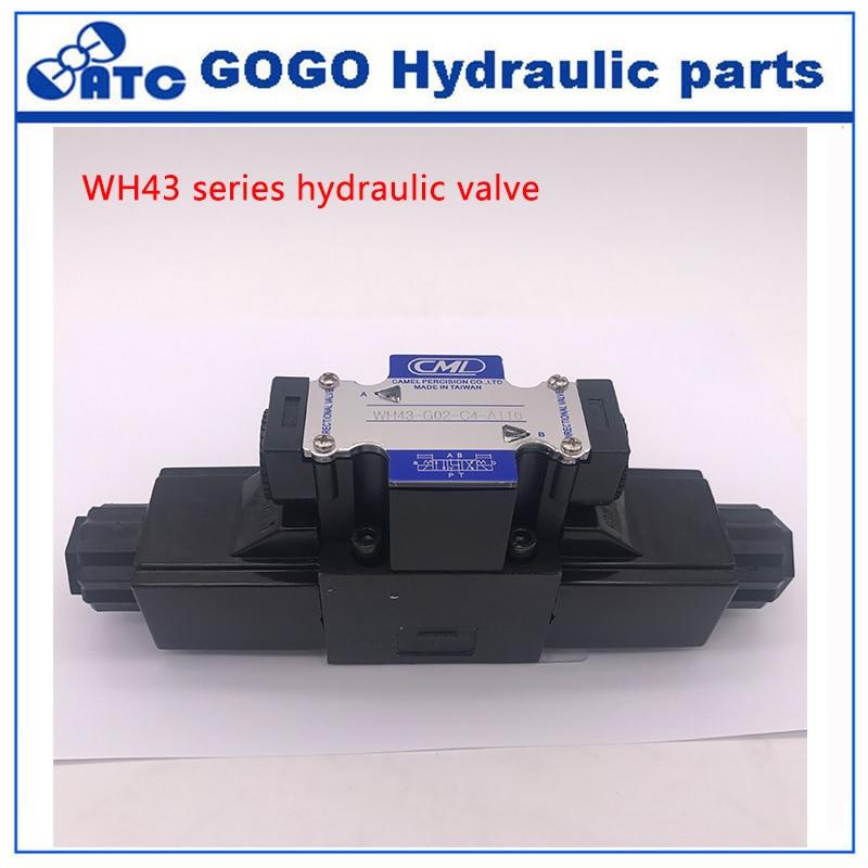 WH43 G02 C2 C3 C4 C5 C6 A220 A110 A240 D12 D24 20 hydraulic valve
