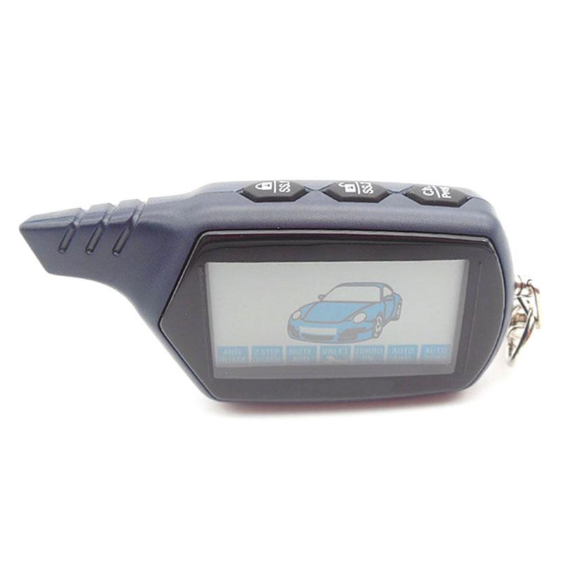 Prix pour 2015 livraison gratuite russe version B6 lcd à distance pour starline B6 lcd de voiture système d'alarme de voiture à deux voies/FM émetteur
