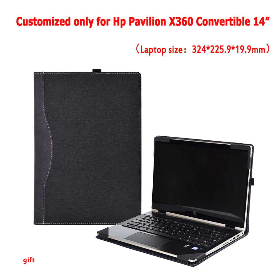New Case For Hp Pavilion X360 Convertible 14 Inch 2019 Laptop Sleeve Detachable Notebook Cover Bag Protective Skin Stylus Gifts-in Laptop Bags & Cases from Computer & Office