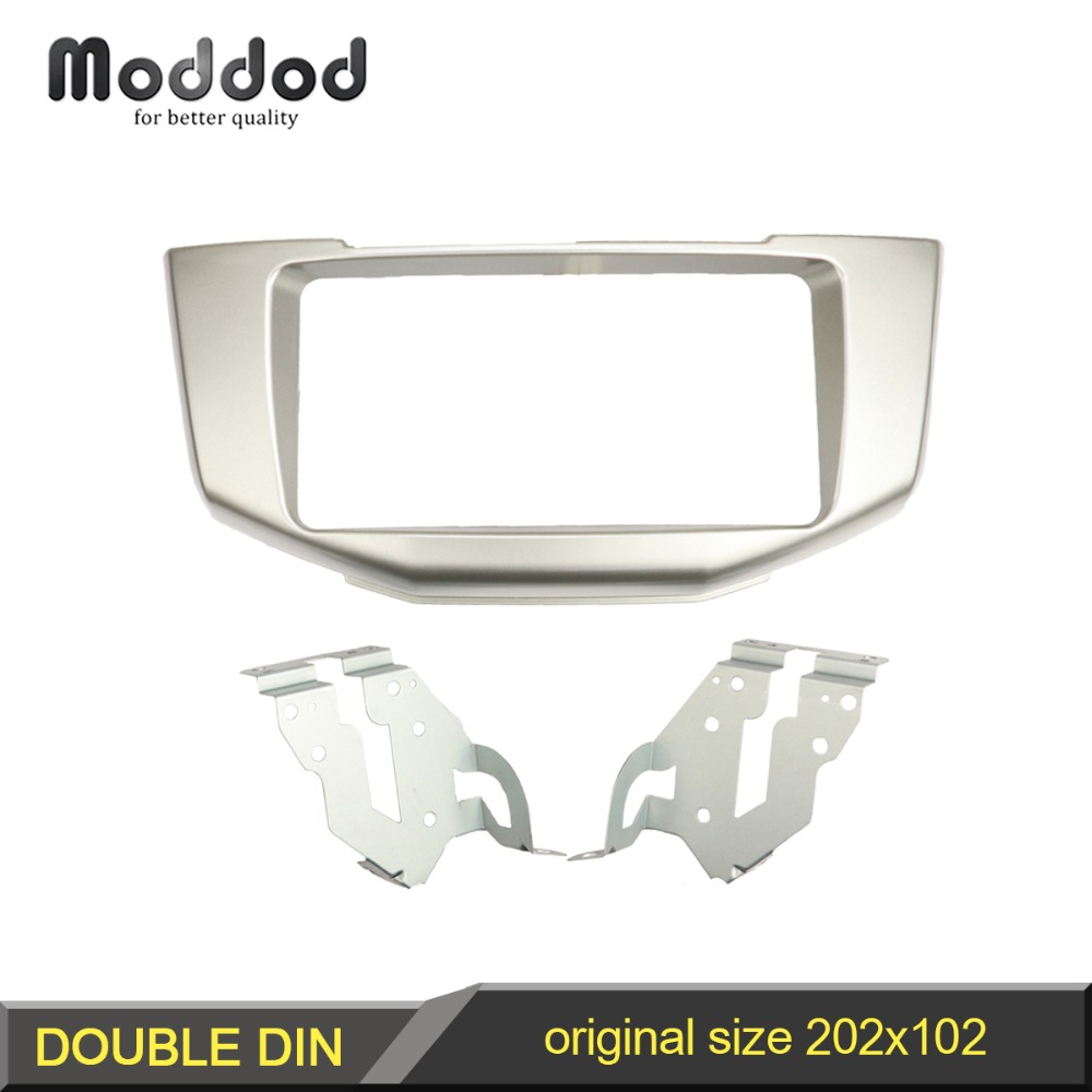 2 Din DVD Stereo Audio Fascia Panel for Lexus RX 300 330 350 400h Toyota Harrier