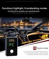 Мини 8 режим 2017 автомобильные педаль газа контроллер для BYD surui Sirui Тан Qin песня Юань F3R S6 S7 f0 G5 G6 M6 Быстрый старт