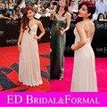 Ariana Grande rosa celebridad del vestido de noche de baile vestido Formal Pageant NYC estreno de Harry Potter