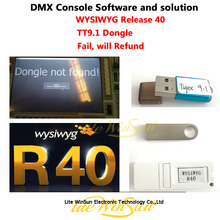 Litewinsune DMX Console Perform Software System Problem Solution Tiger 9.1/11.0 Dongle Free Dongle WYSIWYG Release R40 Dongle