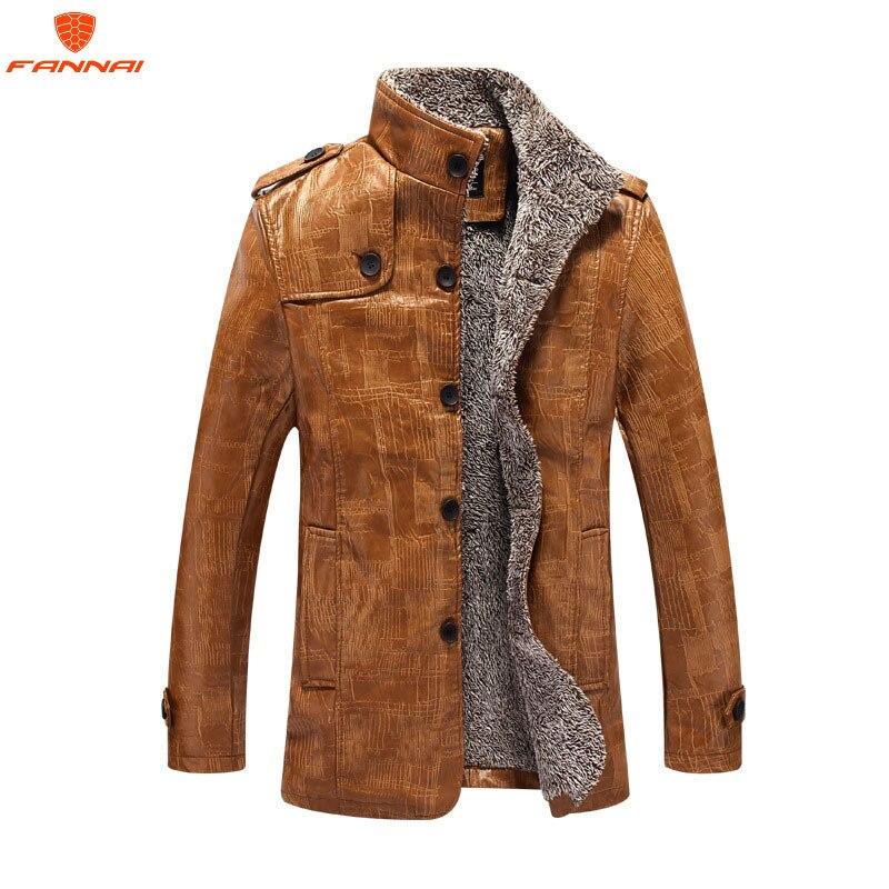 men jackets winter men's jackets Plus velvet warm jacket-bombers Jaqueta Masculina Fashion Leather jacket For men Large coats8XL
