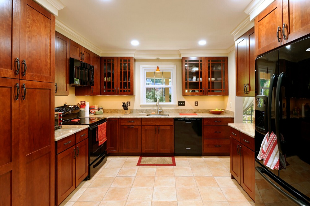 2017 wood kitchen cabinets cheap priced solid wood kitchen furnitures  traditional kitchen island with storage L1606006. Online Get Cheap Wood Kitchen Cabinets  Aliexpress com   Alibaba Group