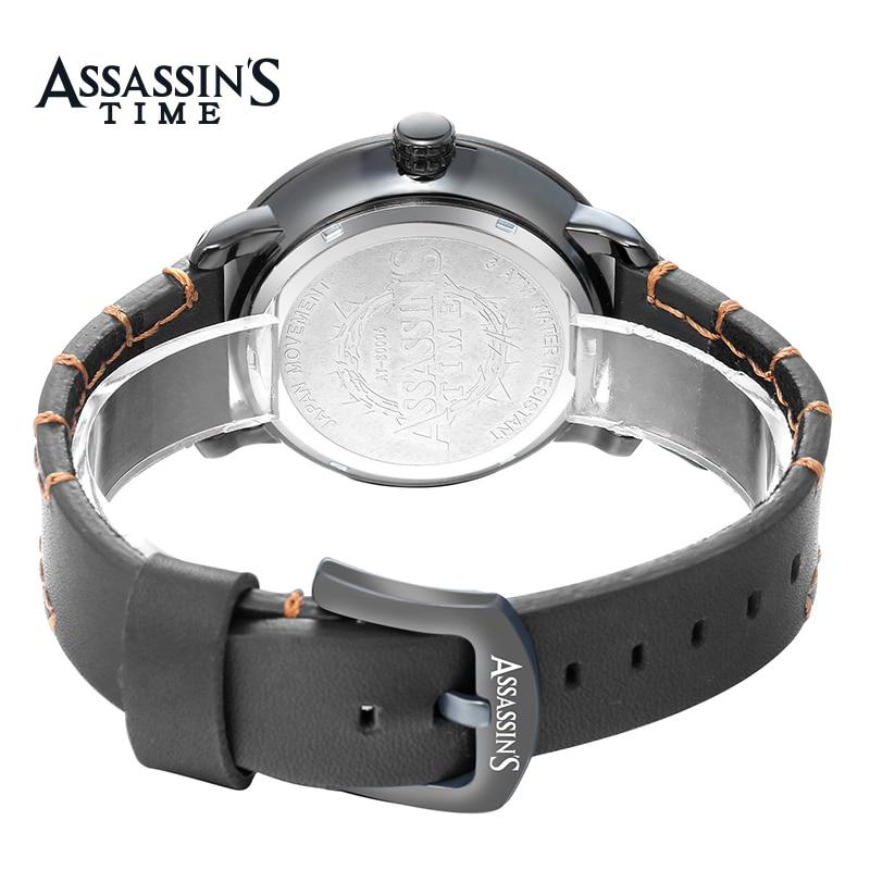 Assassin's Time Fashion Style Fashion Men Mapa Cuarzo Reloj Deportivo - Relojes para hombres - foto 5