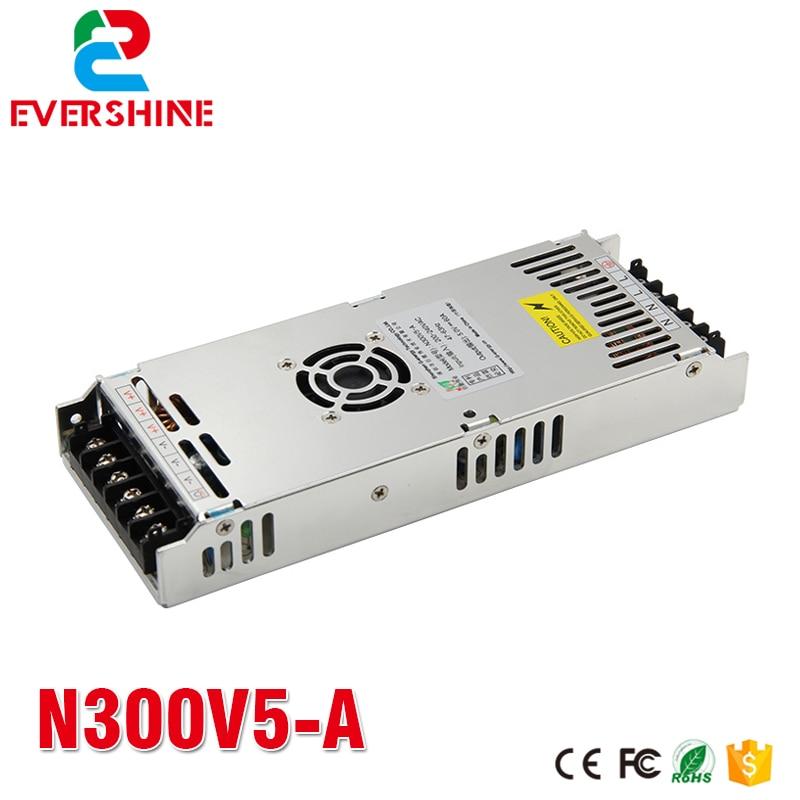 g energia n300v5 a 5 v 60a 300 w magro display led fonte de alimentacao para