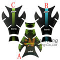 Free shipping motorcycle tank stickers fuel gas tank applique fits For Kawasaki Ninja 250R 300R ZX-6R ZX-9R ZX-10R ZX-12R ZX-14R