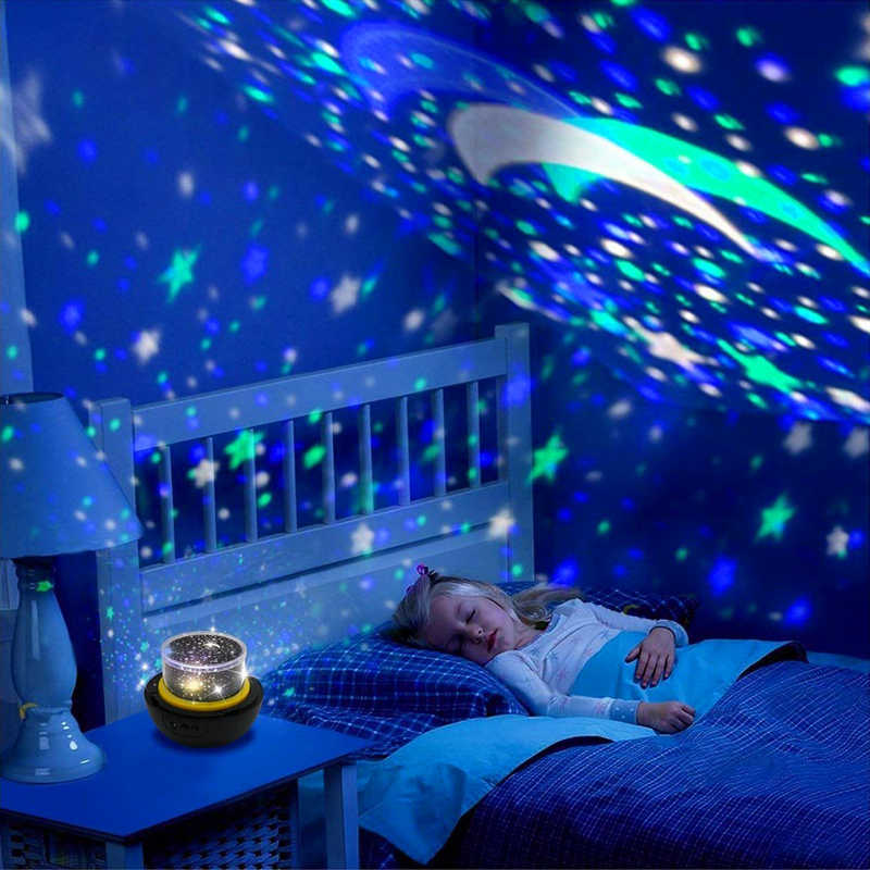Светодио дный LED Star Master ночные светильники Звездное небо Magic планетарный проектор лампы Космос Вселенная Luminaria детские праздник подарок на день рождения
