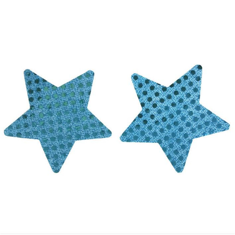 10pairs lot Women Nipple Cover Sexy Sequins Star Nipple Cover Disposable Charm Pasties Self Adhesive Breast Petals in intimates 39 accessories from Underwear amp Sleepwears