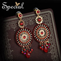 Special New Fashion Dreamcatcher Earrings Big Dangle Drop Earrings Enamel Rhinestones Jewelry Gifts for Women ED151231