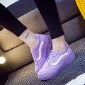 Женщины кроссовки кожаные спортивные кроссовки прогулки теннис Демпфирования Противоскользящие Открытый zapatos homme бег спортивная обувь